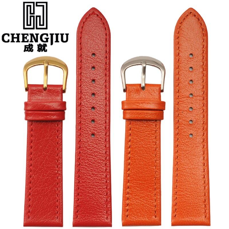 1accf4d2c18f Vintage mujeres reloj para Hermes relojes Cuero auténtico Correas Correa  22mm retro pulsera Correa correa de reloj impermeable en Correas de reloj  de ...