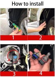 Image 5 - Przednie światło przeciwmgielne do samochodu żarówki podwójny kolor 55W H11 H3 H7 9005 HB3 9006 HB4 880 881 H27 LED światła biały żółty niebieski czerwony różowy