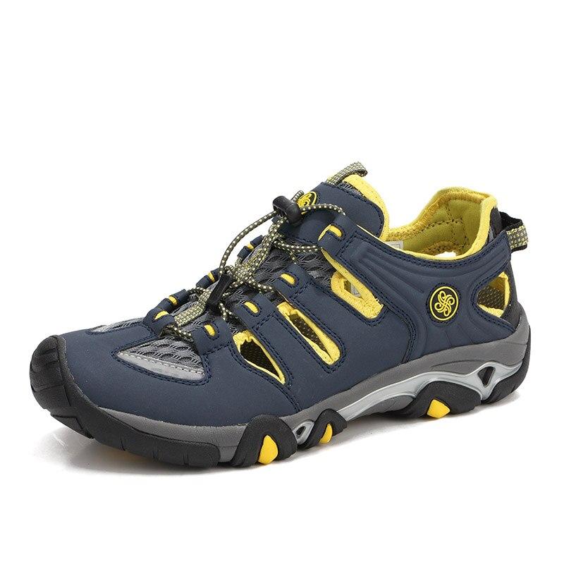 Hommes de Anti-dérapage Lumière Aqua Eau Chaussures Rapide de Séchage Respirant Aqua Chaussures de Plage Plat En Plein Air Sneakers En Amont Patauger chaussures Homme