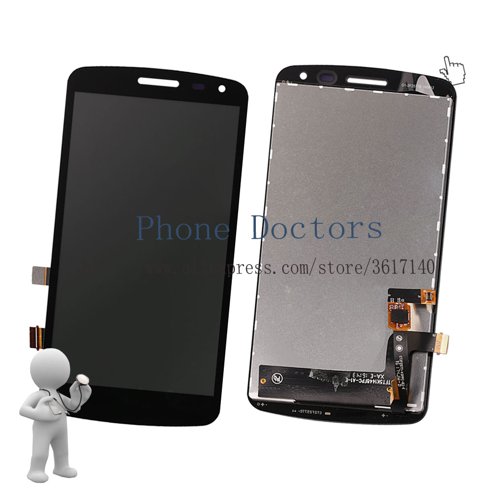5.0'' New Full LCD DIsplay + Touch Screen Digitizer Assembly For LG K Series K5 X220 X220MB X220DS ;Black ;100% Tested ;Tracking