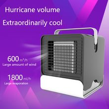 2019 Baru AC Cooling Fan Humidifier Pembersih Pendingin Portabel Night Light Air Tangki Air Cooling Fan USB Humidifier(China)