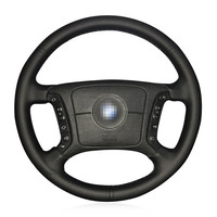Heated Steering Wheel Cover For BMW E46 318i 325i E39 E53 Breathable Microfiber Leather Braid On
