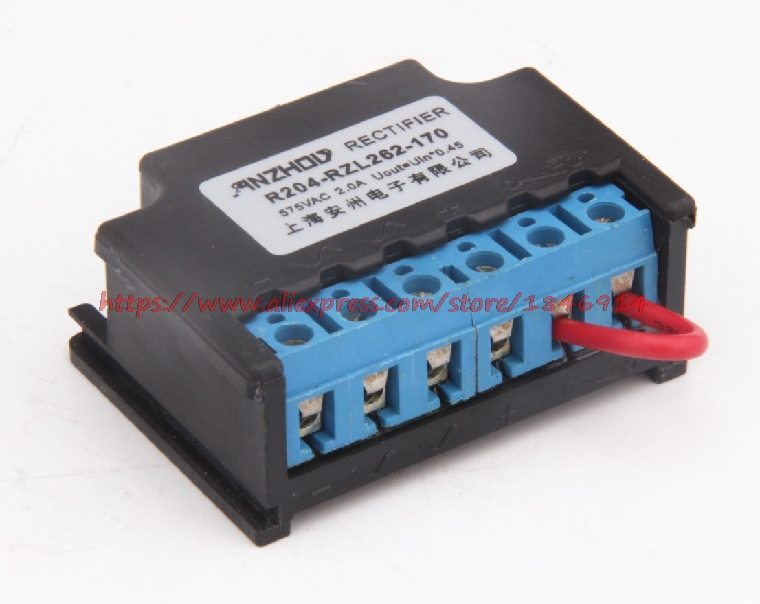 RZL262 170 fast rectifier Brake brake rectifier block R204 RZL262 170-in Electronics Stocks from Electronic Components & Supplies    1
