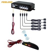 Car Wireless Parking Sensor System Retail Wholesale Free Shipping