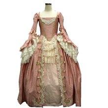 Винтажное платье в стиле южной Белль, 18 век, платья в викторианском стиле/платье Скарлетт US6-26 SC-1066