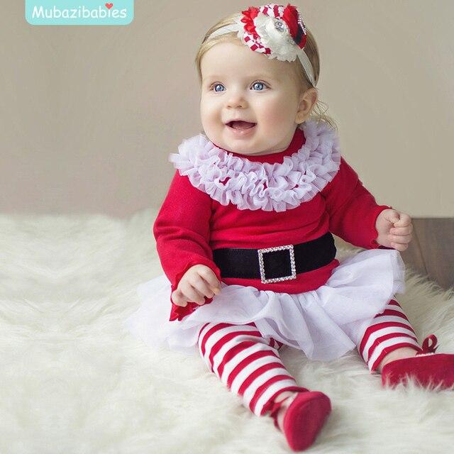 4ac16f3b6bf76 Bambini Outfits Natale Bambini Natale Abbigliamento Set Baby Ragazzi e  Ragazze Vestiti di Natale e Babbo