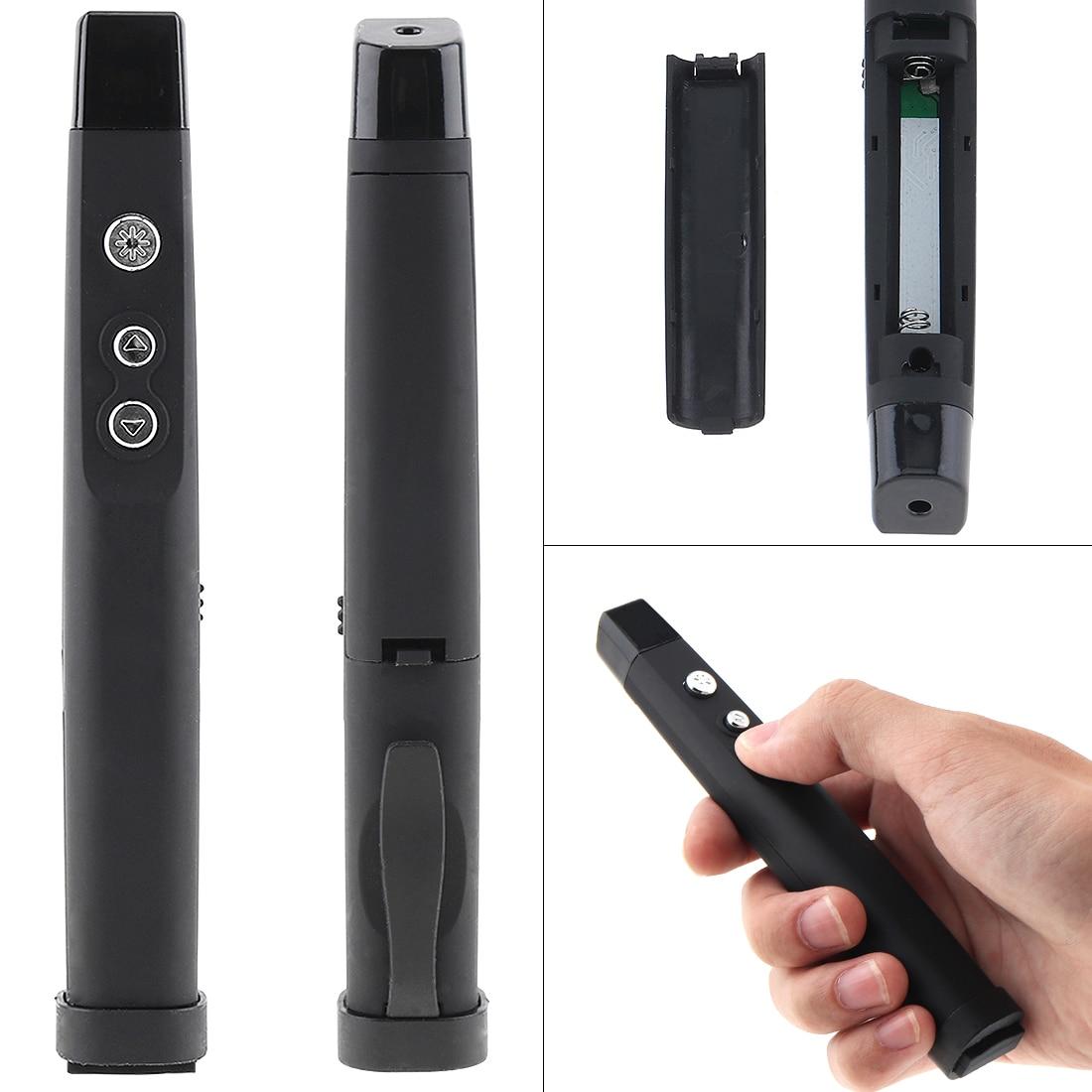 2.4g Rf Wireless Presenter Afstandsbediening Laser Flip Pen Met Infrarood Emitter En Laser Pointers Voor Projector/pc /laptop