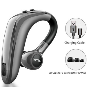 Image 5 - New 5.0 bluetooth headset wireless headphone earphone super long standby earpiece with Mic Sweatproof Noise Reduction hands free