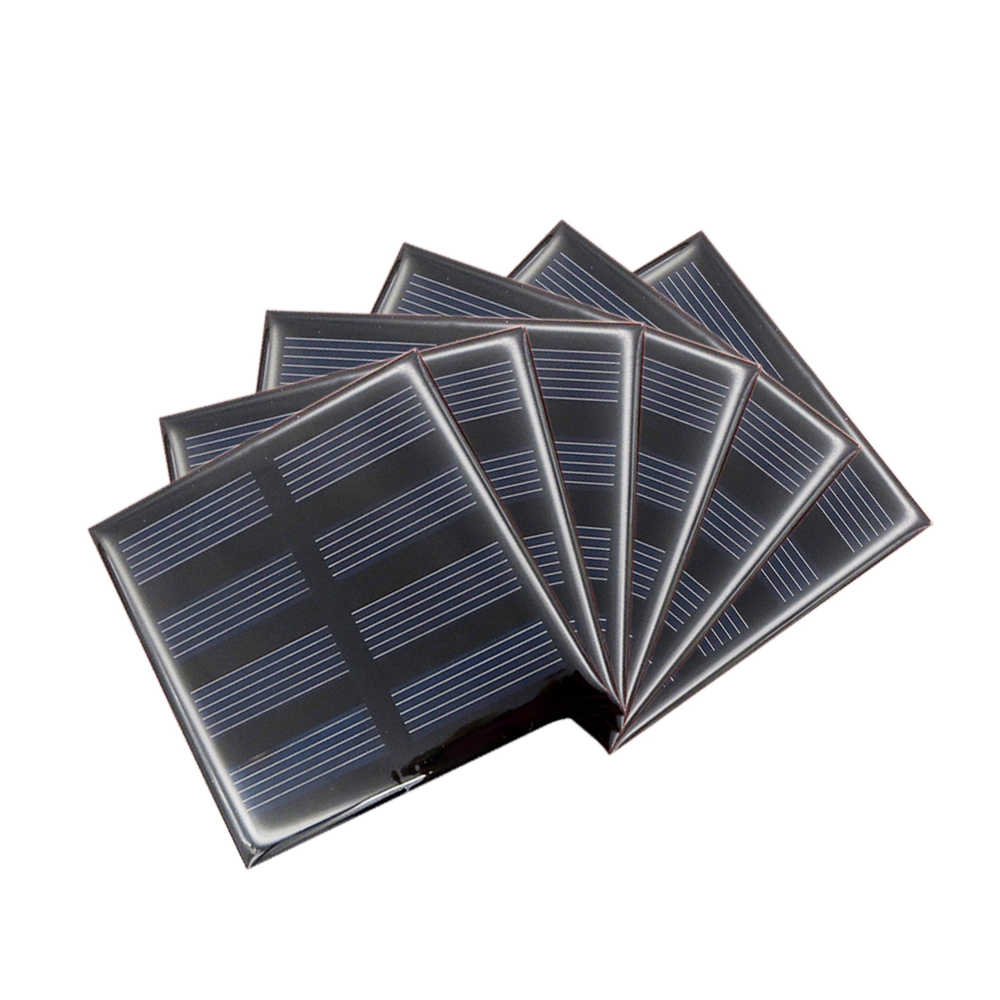 Solar charge 1V 1.5V 2V Mini Solar System For Battery Cell Phone Chargers Portable 0.5W 0.45W 0.65W 0.2W 0.3W 0.6W Solar Panel