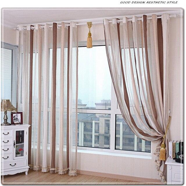 Online-Shop Chenille Vorhänge Voile Moderne Einfache Vertikale ...