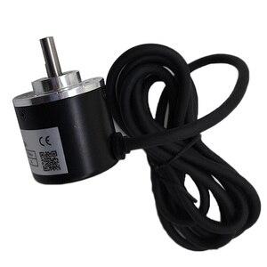 Image 5 - Free shipping PNP Pushpull AB 2 Phase 6mm shaft Incremental Optical Rotary Encoder 100 200 360 400 500 600 1000 pulse ES38