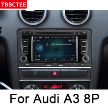 For Audi A3 S3 RS3 8P 2003~2012 MMI Car Multimedia Player Android Auto Radio DVD GPS Bluetooth WIFI MAP HD ISP Screen Head Unit цена