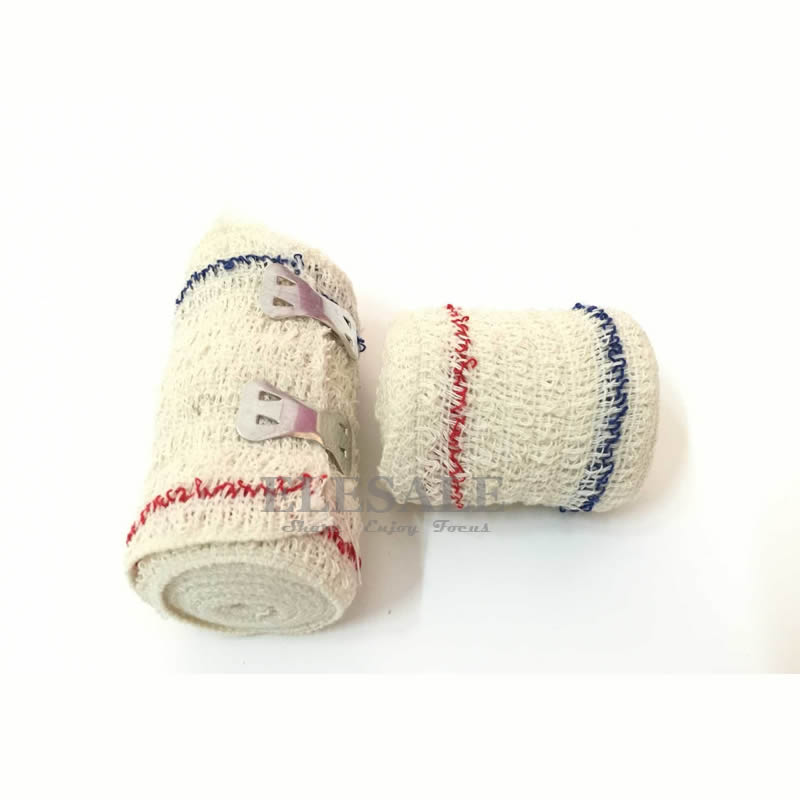 1 Roll 5cm*4.5m 7.5cm*4.5m Elastic Crepe Bandage Wound Dressing Outdoor Sports Sprain Treatment For First Aid Kits Accessories