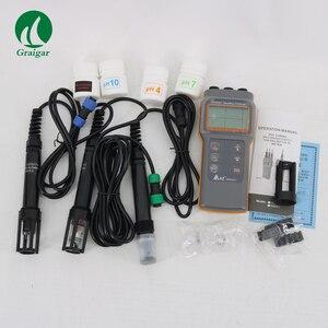 Alta qualidade az86031 profissão medidor de qualidade da água medidor ph portátil dissolvido oxigênio tester ip67