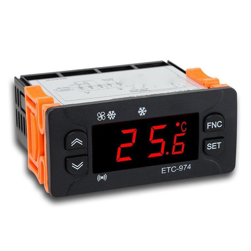 ELitech ETC-974 230V Temperature Controller Temp Thermostat NTC Cold Storage бетоносмеситель elitech б 160