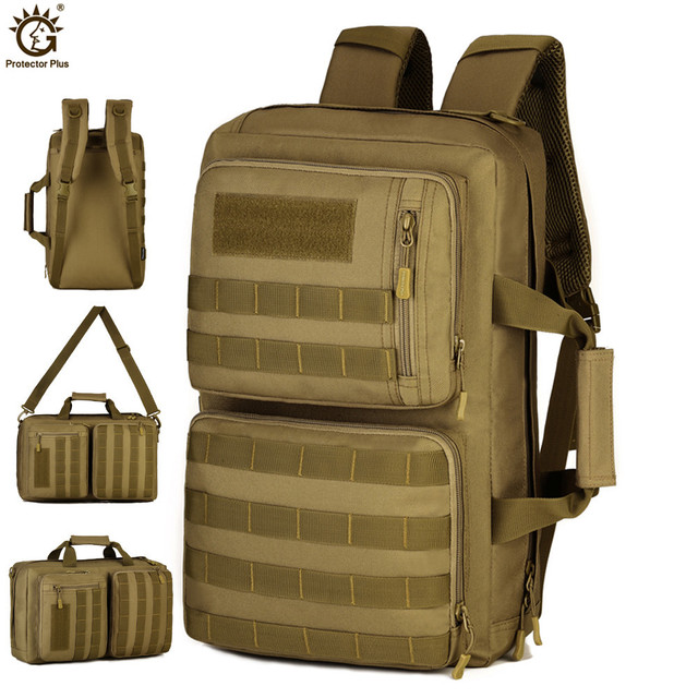 Outdoor 35L Sport Climbing Camping bag 3 Use Shoulder bag Trekking Molle Travel Bag Military Tactical Backpack mochila militar