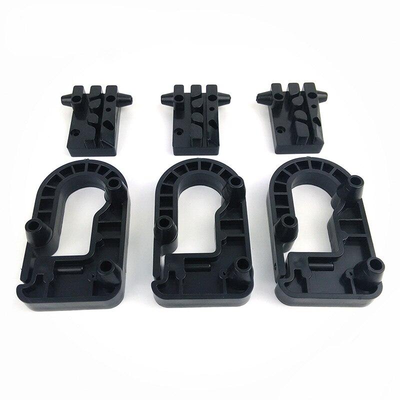 Micromake kossel Marcos Delta 3D impresora piezas de inyección de plástico moldeado por inyección piezas polea