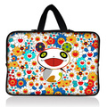 "Colorful Bear 10"" Soft Neoprene Sleeve Case Bag Cover Holder +Hide Handle For 9"" 10"" 10.1"" 10.2"" inch Laptop Notebook Tablet PC"