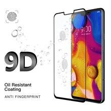 Модные 9D 9 H Экран защитный чехол для телефона для LG V30 V40 G7 закаленное Стекло протектор передней крышки для LG G5 G6 G7 аксессуары