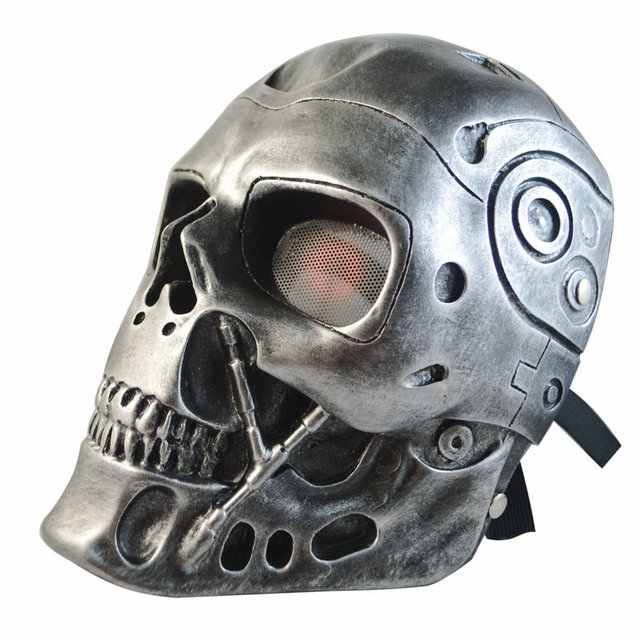 28cm The Terminator T800 Resin Mast Cosplay Mask