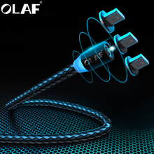 OLAF Magnetic USB Cable 1M 2M 8 PIN Fast Charging USB Cable