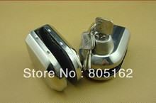 Luxury glass door lock(DFGL-011)