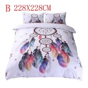Image 3 - Floral Bunte Dreamcatcher Bettwäsche Set Hipster Böhmischen Stil Bett Kleidung massage tisch coverfitted bettwäsche könig größe
