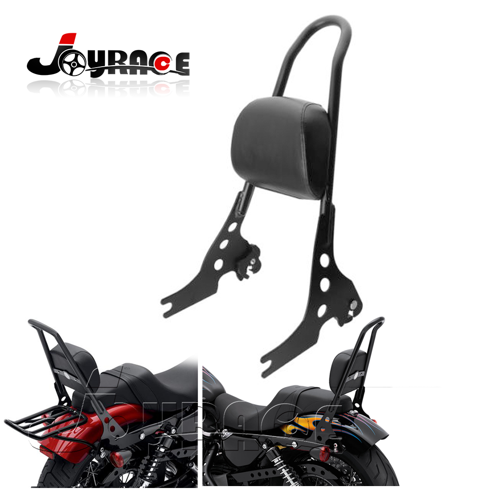 Motorfiets bagagerek achterpassagier rugleuning pad Sissy bar kussen - Motoraccessoires en onderdelen