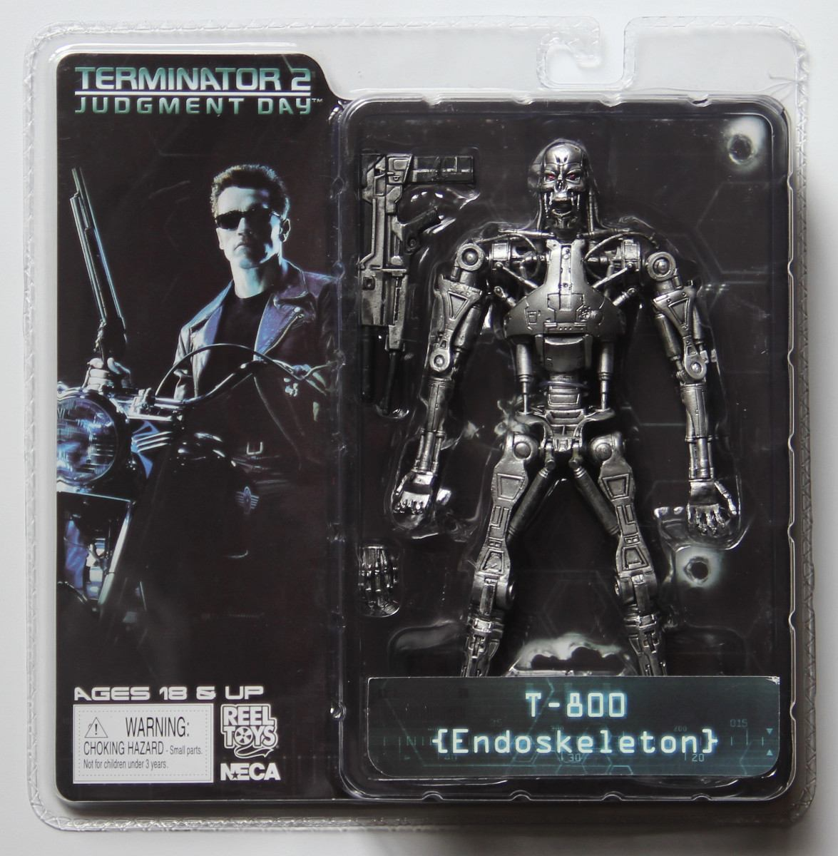 Free Shipping NECA The Terminator 2 T-800 Endoskeleton Action Figure T800 Model Collection Toy