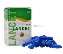 Wholesales CE approved Sterile disposable blood Lancet 400pcs/lot free shipping