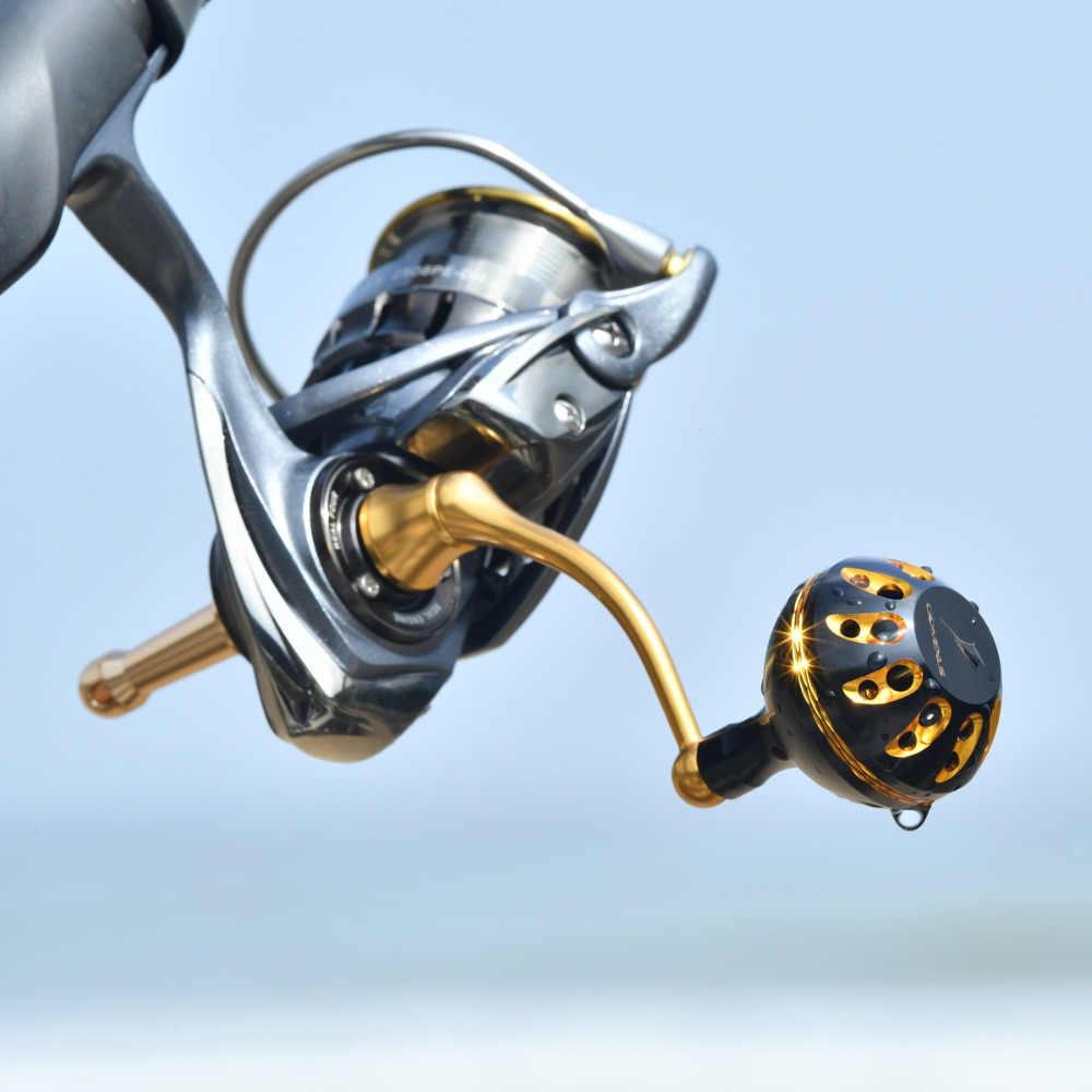 Gomexus Reel Handle Knob For Shimano Stella FI Sahara FI Sedona FI Nasci 3000 4000 39mm Direct, Penn Spinfisher 4K-6K Drill