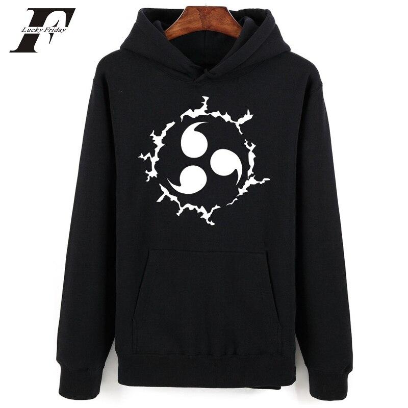 2017 Naruto Hood Winter printed Hoodie sweatshirt Men women Mens Hoodies And Sweatshirts Japanese Anime tracksuit Clothes