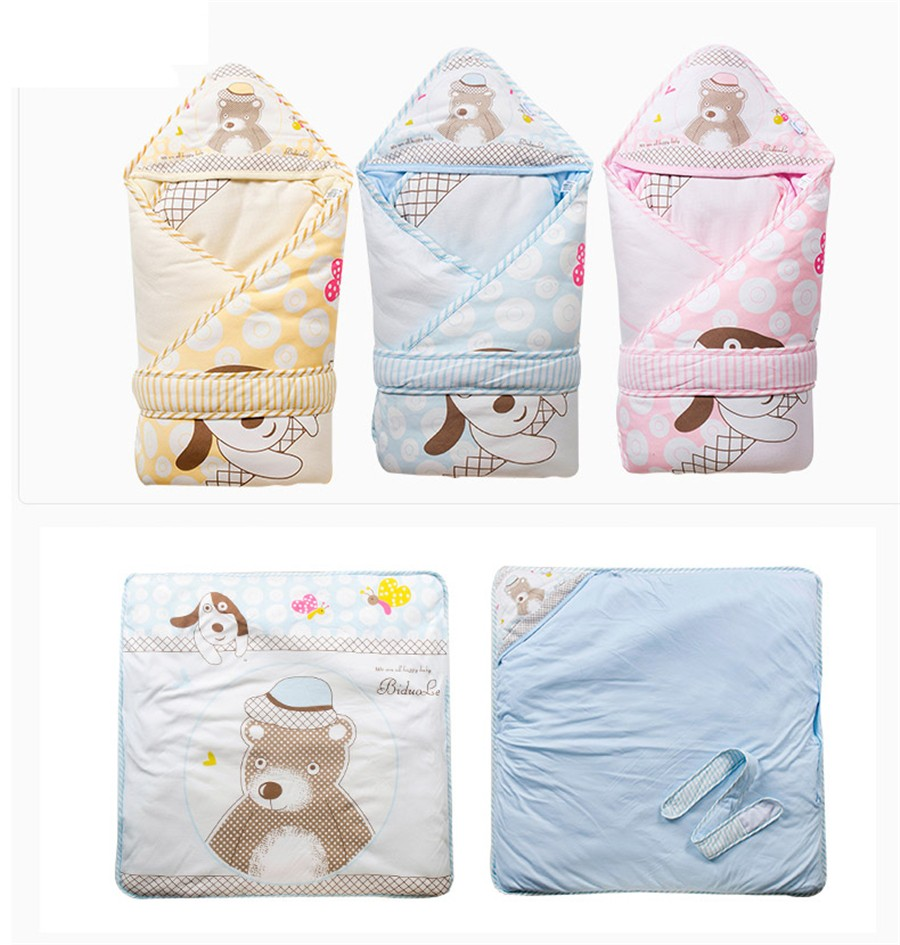Baby Wrapped Blanket Warm Care (18)