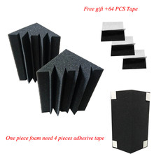16 PCS Bass Trap Acoustic Panels Absorption Foam Music Treatment For Studio Best price(China)