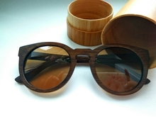 Sun glasses for men and women polarized new fashion wooden sunglasses high quality bamboo frame in stock cr39