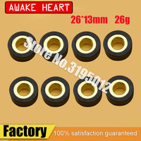 motorcycle scooter AN400 variator weight roller clutch pulley driven bead for Suzuki Burgman Skywave 400cc AN 400 parts (8pcs)