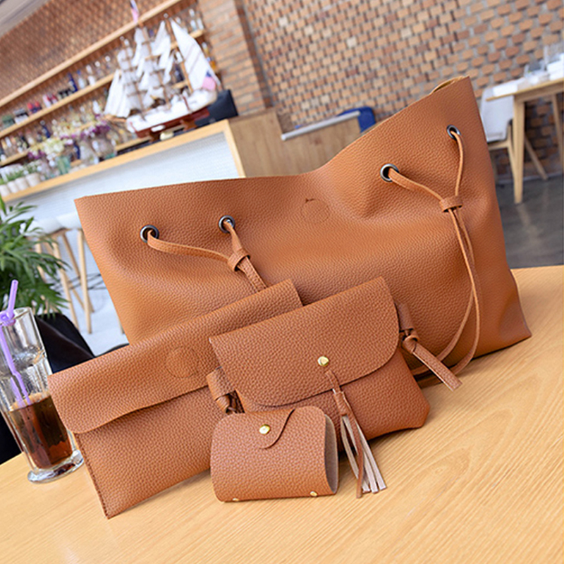 DALFR PU Leather Women Handbag Shoulder Bag for Women Ladies Bolsas Luxury Handbags Women Bags Designer