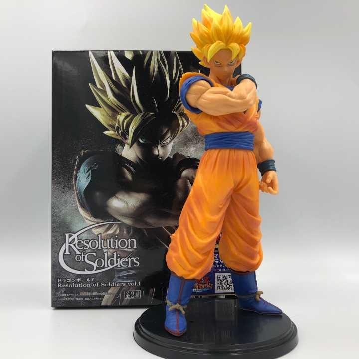 22 cm Dragon Ball Z Goku Action PVC Figure Collection modèle jouets pour cadeau de noël a la base