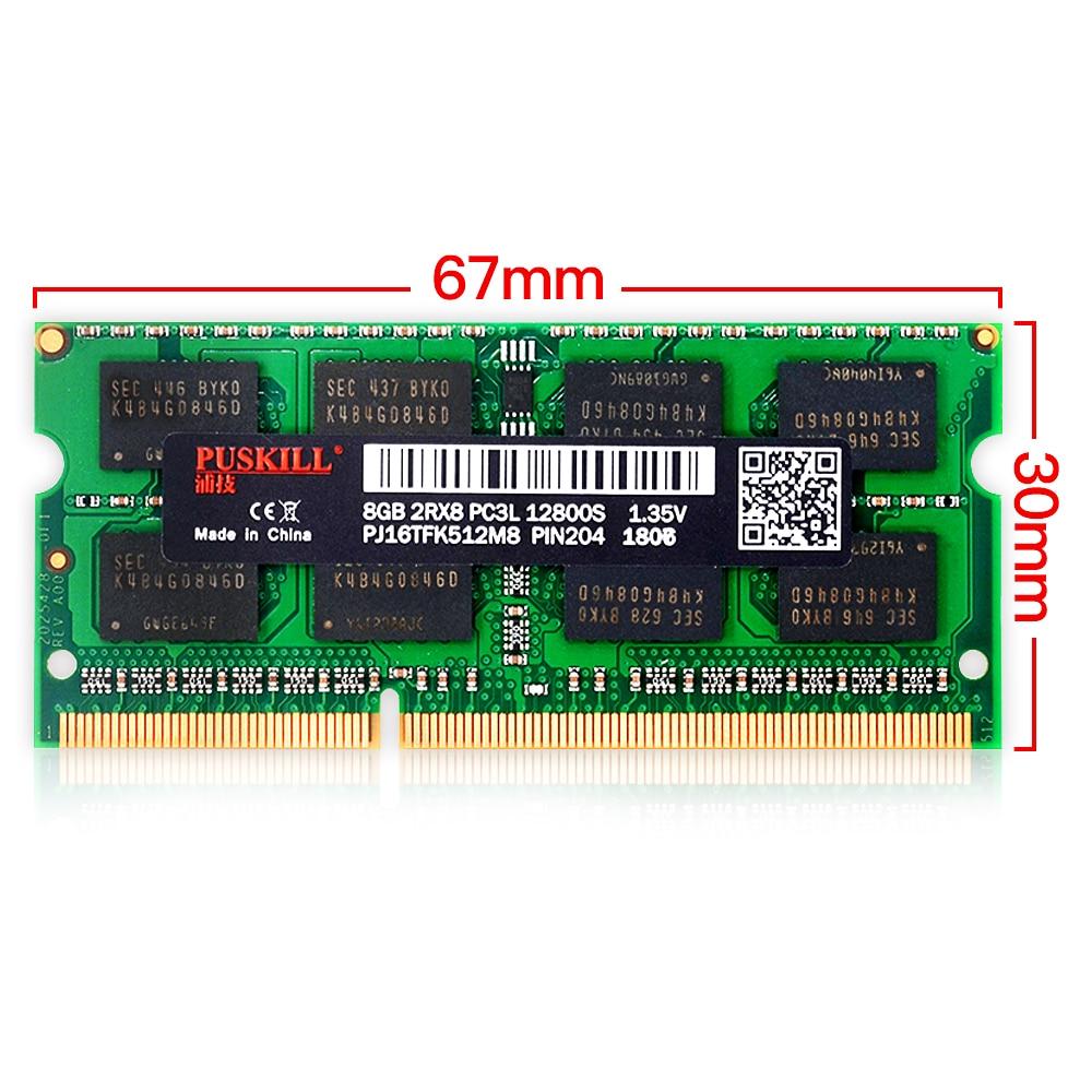 Factory wholesale sodimm DDR3 4GB 8GB 2GB 1333 1600MHZ for Laptop memoria ram 3