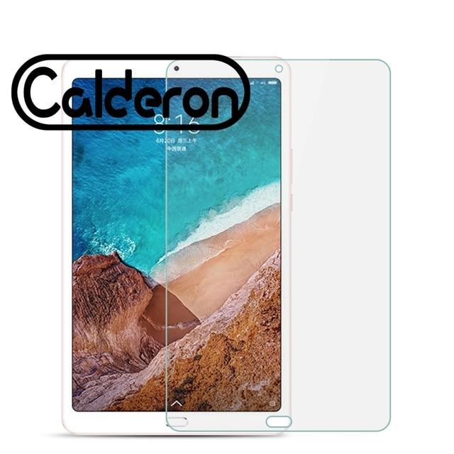 الزجاج المقسى ل شياو mi mi سادة 4 زائد واقي للشاشة LCD اللمس الحرس اللوحي غطاء mi سادة 4 زائد 4 زائد واقية فليم Pad4