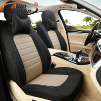 Custom Fit Flax Seats Covers For Ford Mustang 2015 2016 Seat Covers Set For Cars Accessories