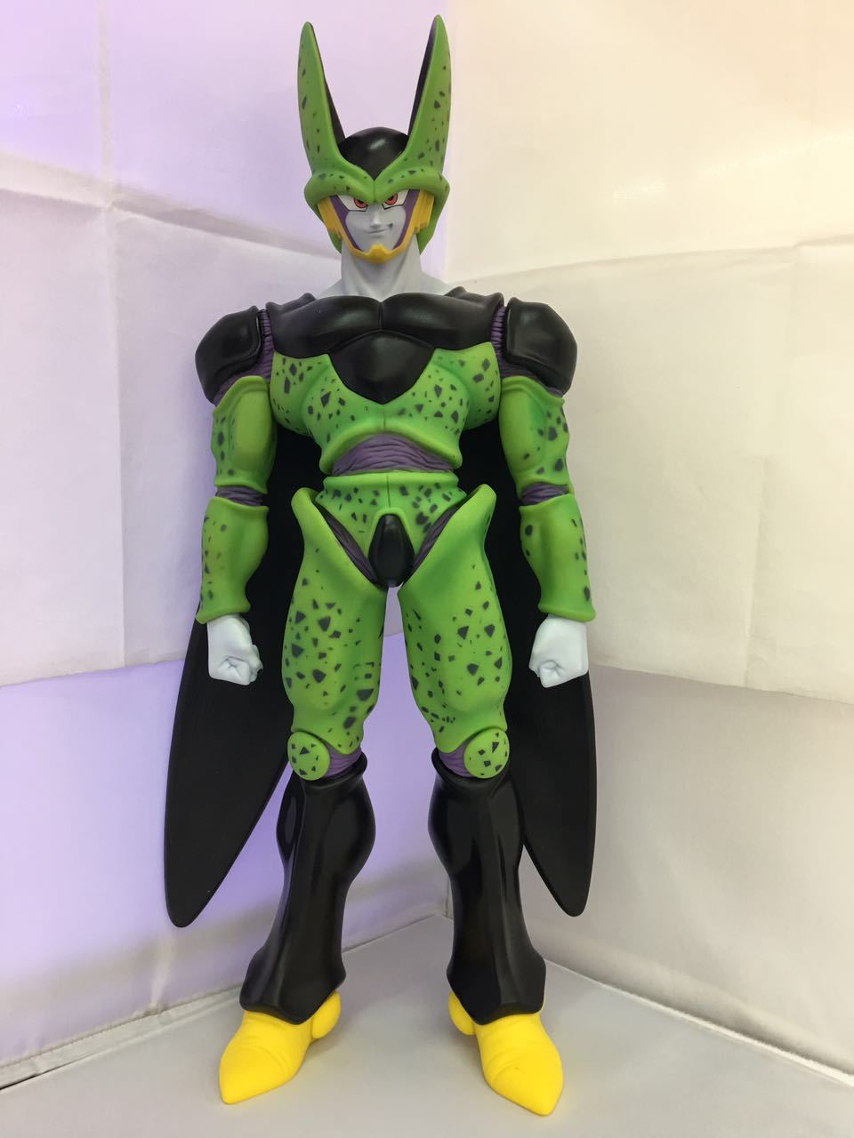 Anime Dragon Ball Z Perfect Cell Super Big PVC Action Figure Collectible Model Toy 48cm KT3906 dragon ball z super big size super son goku pvc action figure collectible model toy 28cm kt3936