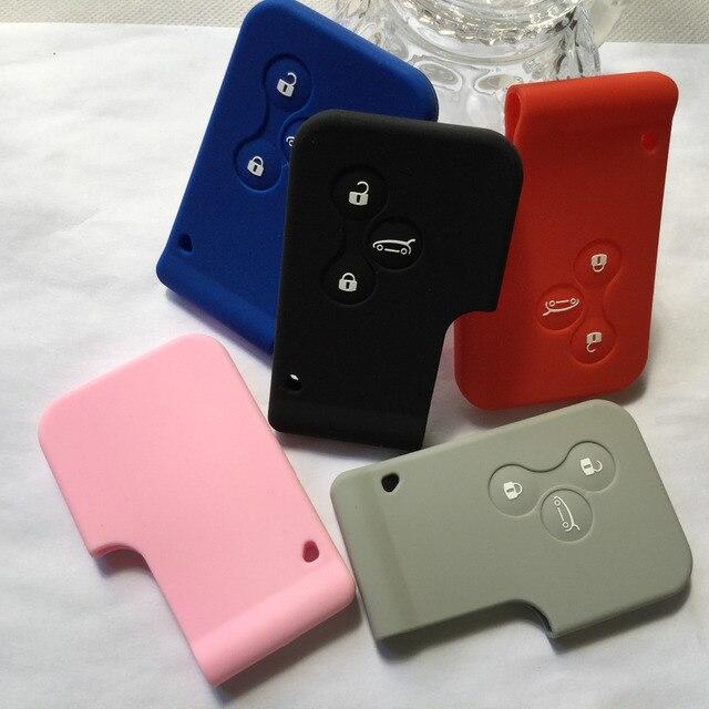 cl shell accessoire pour renault megane scenic 3 bouton keycard key card support de couverture. Black Bedroom Furniture Sets. Home Design Ideas