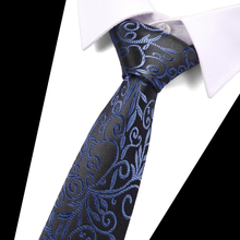 Floral Men Wedding Parties Dress Necktie Jacquard Ties Accessories gravatas para homens Tie 7.5 CM Business Luxury tie
