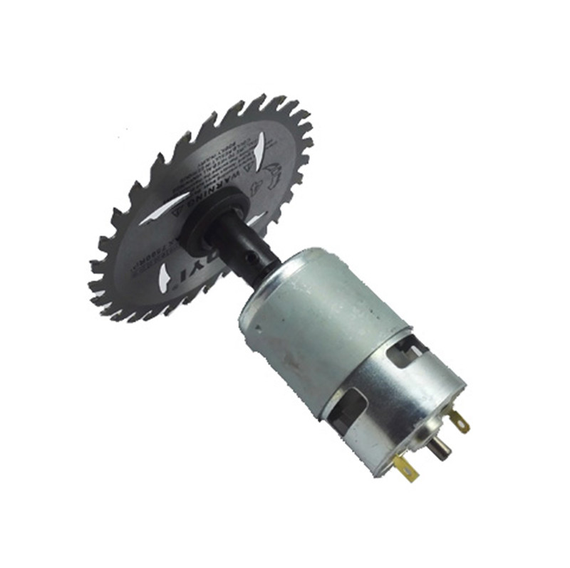 RS-775 DC 775 895 795 Motor For Drill 12V 24V 80W 150W 288W Brush dc motors rs 775 lawn mower motor with two ball bearing