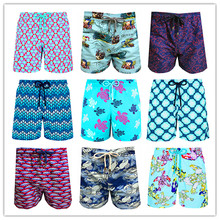 2019 New Arrivals Turtles Adults Swimtrunks Brand BREVILE PULLQUIN Beach Boardshort Men Swimwear Sexy Couples Swimsuit Quick Dry