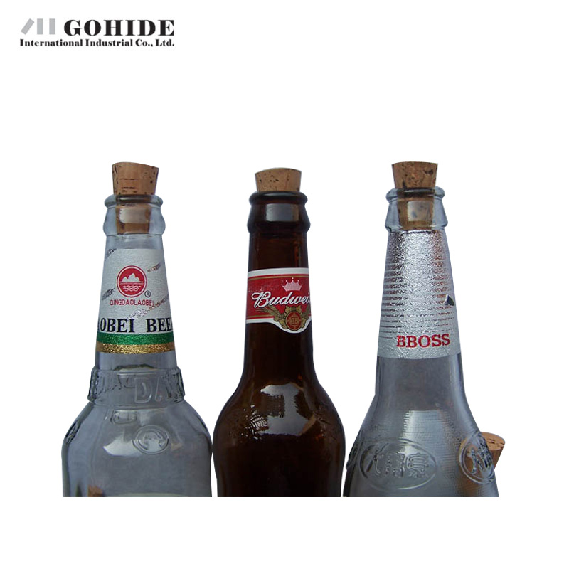 GUHD 10pcs/lot Natural Wood Cork Wine Stopper Bottle Beer Bottle - Kitchen, Dining and Bar - Photo 4