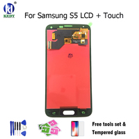 For Samsung S5 Lcd SM G900 SM G900F G900 I9600 LCD Display Touch Screen Digitizer With