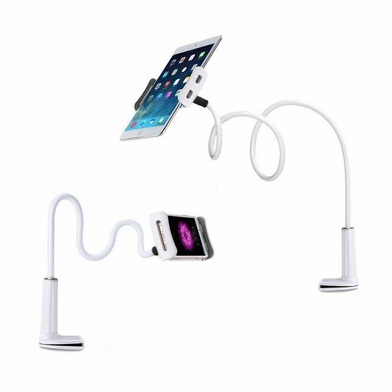 imágenes para Portefeuille largo brazo giratorio 360 grados perezoso para xiaomi mi 5c 5S mi6 redmi 4 pro 3 tablet ipad montaje del soporte del soporte del teléfono celular