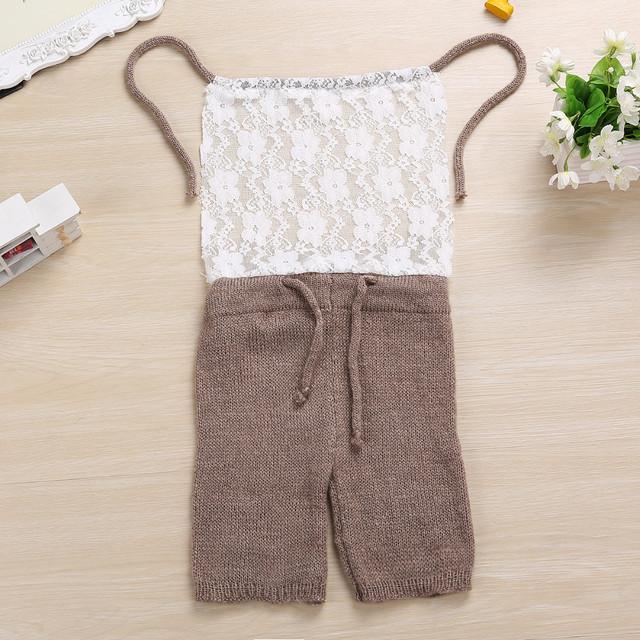 Mohair de Punto pantalones bombachos pantalones de Mohair de Punto bebé Recién Nacido apoyo de la fotografía hecha a mano Del Bebé de la muchacha traje de la foto